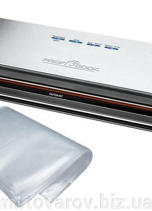 Вакуумный упаковщик Profi Cook PC-VK 1080+ 50 пакетов