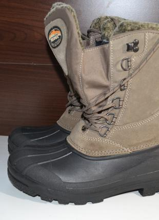 Meindl for actives 40-41р кожаные зимние ботинки, сапоги