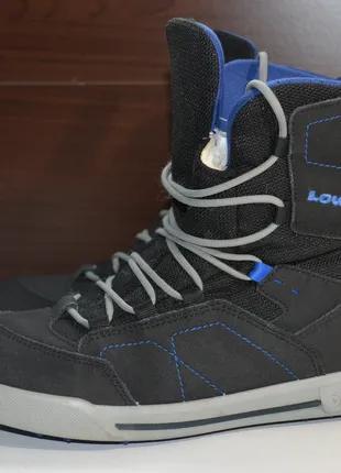 Lowa raik gtx 39р ботинки зимние кожаные. gore-tex