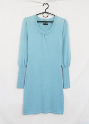 Шикарное теплое кашемировое платье  с длинным рукавом с шелком  🌿