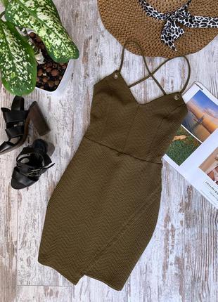 Платье хаки newlook