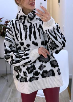 Ооочень тёплый свитер «оверсайз»