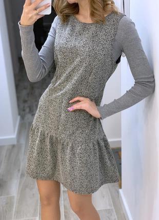 Трендовое платье цвета гранита