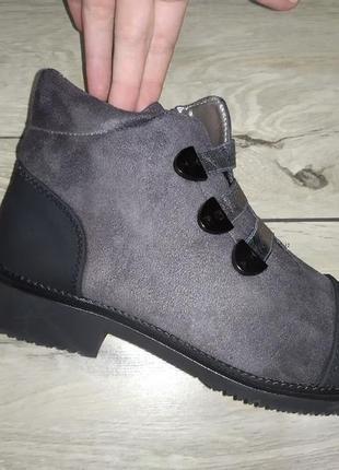 Женские ботинки деми весна низкий ход жіночі полуботинки