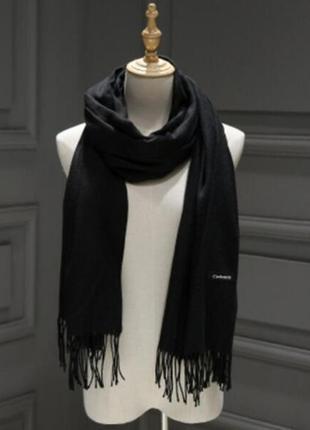 Женский шарф палантин: Черный