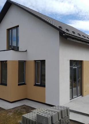 Новый 2 эт. дом (120м), 4 ком. 4 сот. Гостомель, 67 000 у.е.