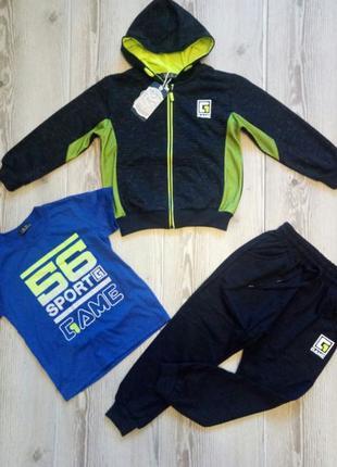 Детский новый спортивный костюм для мальчика 3в1 Венгрия S&D 1...