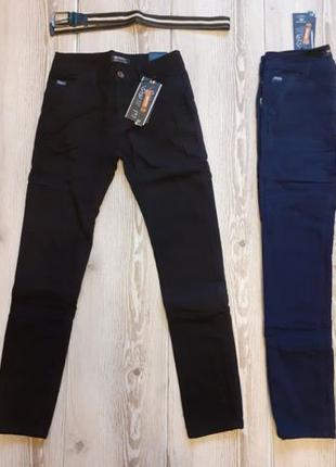 Детские теплые брюки на флисе (джинсы) на мальчика. Венгрия ут...