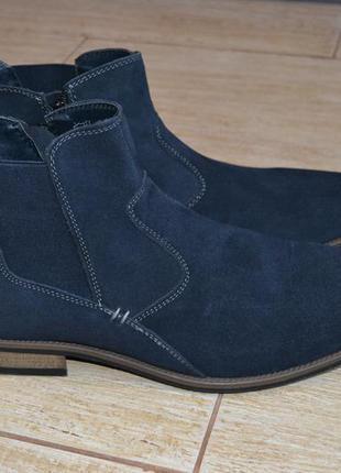 Am shoe company 45р сникерсы  туфли ботинки замшевые, демисезо...