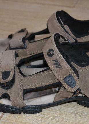 Pdq сандалии кожаные 42.5-43р оригинал. босоножки.