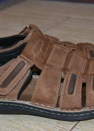 Hotter 44 мокасины сандалии оригинал кроссовки кожаные