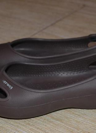 Crocs  38р туфли босоножки сандалии  аквашузы оригинал. балетки