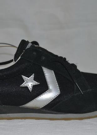 Converse all star сникерсы кеды 38.5р. кроссовки оригинал кожаные