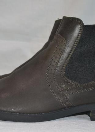 Starc 44р ботинки кожаные. оригинал. демисезон-еврозима.