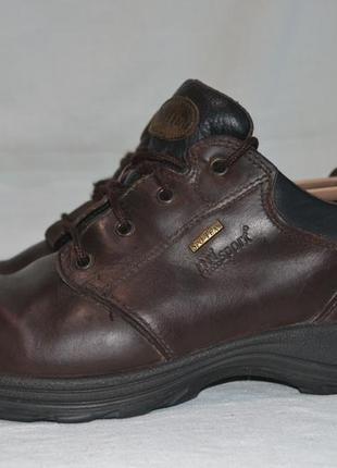 Grisport 43р туфли ботинки кожаные. spo-tex. made in italy.