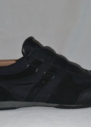 Hugo boss 46р туфли кожаные оригинал. мужские ботинки