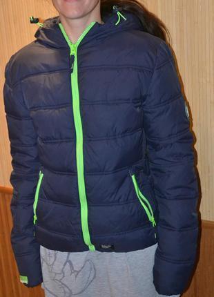 Superdry s\46\36 куртка демисезон- еврозима. зимняя . силикон ...