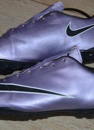 Nike jr mercurial victory v tf 38р бутсы сороконожки футзалки