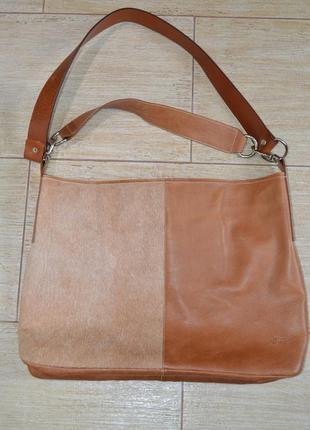 Noleti кожаная большая сумка . италия.