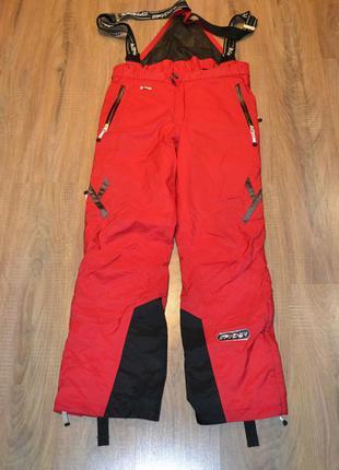 Spyder l/52/42р горно лыжные штаны, для сноуборда. утепленные....