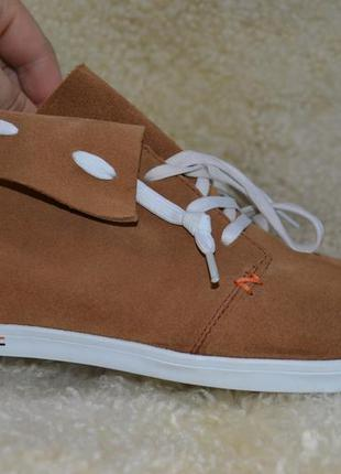 Hub 39р кроссовки ботинки сникерсы кожаные. оригинал.