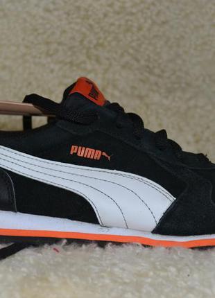 Puma 38р кроссовки кожаные. оригинал.
