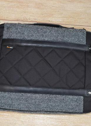 Timberland сумка из ткани harris tweed , портфель для ноутбука.