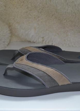 Sperry 43-44р шлепанцы вьетнамки кожаные.