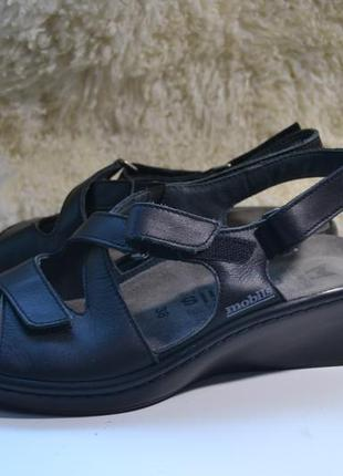 Mephisto 38р сандалии босоножки кожаные