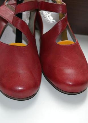 Rieker 40р  туфли  кожаные,  босоножки