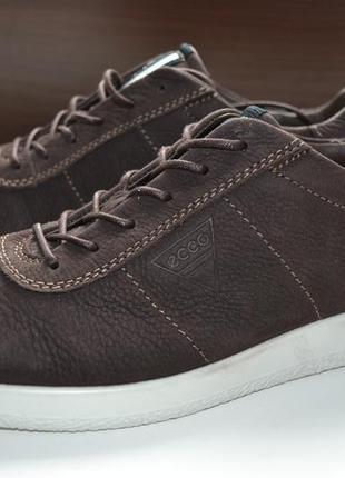 Ecco 40р кроссовки сникерсы ботинки кожаные. оригинал. сток