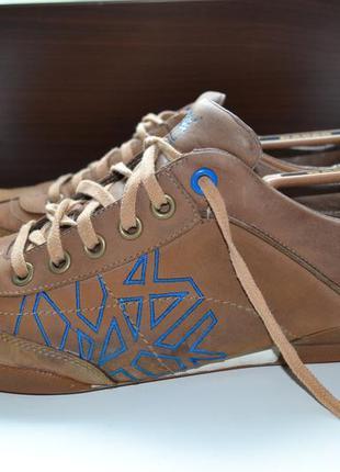 Timberland 46р ботинки туфли топсайдеры мокасины кожаные. ориг...