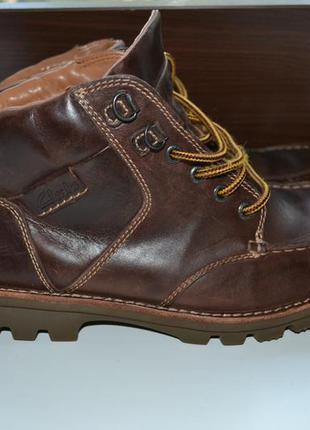Clarks 42.5-43 р ботинки кожаные демисезон евро зима. оригинал