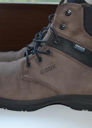 Geox respira 41р зимние ботинки кожаные.