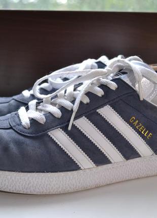 Adidas gazelle 46р кроссовки сникерсы кожаные. оригинал
