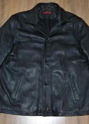 Signum xxl  кожаная куртка, курточка демисезон , зимняя