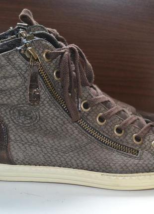 Paul green 38р сникерсы кожаные. оригинал. ботинки кроссовки