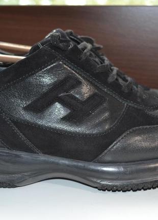 Hogan 43р кроссовки ботинки кожаные. оригинал