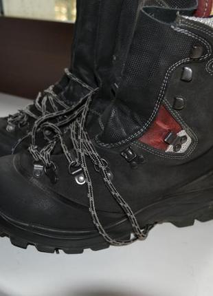 Stuco 43-44р ботинки кожаные. зимние. рабочие.
