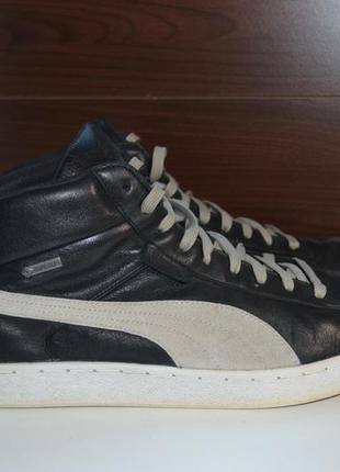 Puma 46р ботинки сникерсы, демисезон еврозима. gore-tex кроссовки