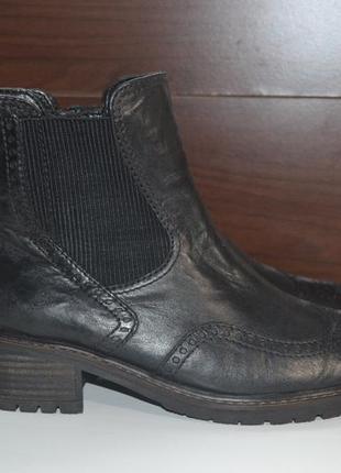 Gabor 39р ботинки ботильоны кожаные, оригинал