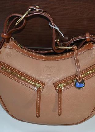 Dooney & bourke кожаная сумка . оригинал