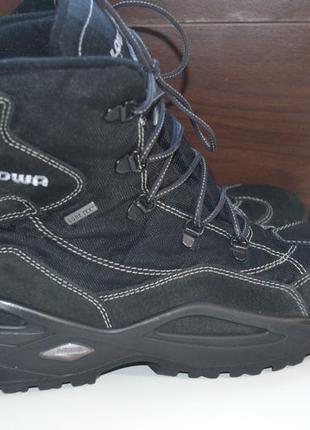 Lowa 41р зимние кожаные ботинки на меху. gore-tex