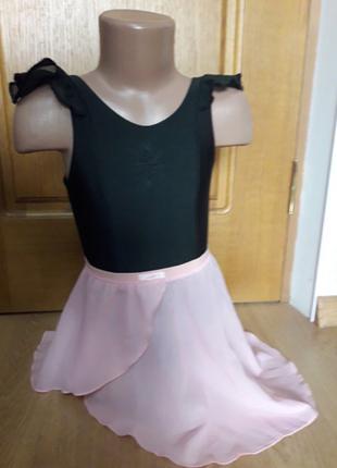 Детский набор для танцев ( трико + юбка)