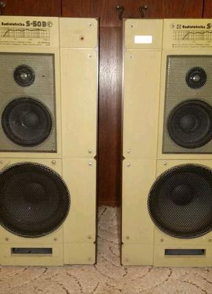 Колонки Radiotehnika hi-fi S-50B