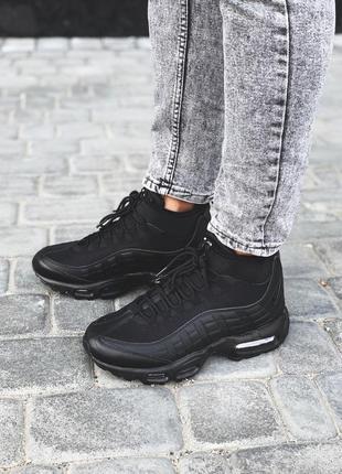 Nike air max sneakerboot 95 black