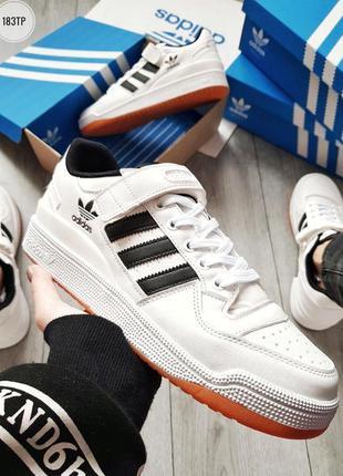 Мужские демисезонные кроссовки адидас, adidas forum mid white ...