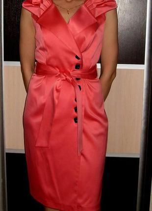 Нарядное платье 46-48р польша
