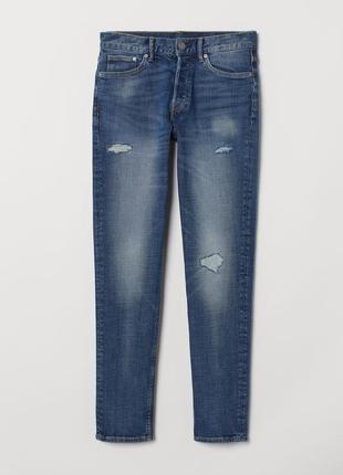 Зауженные джинсы h&m , slim !