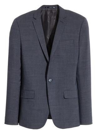Шерстяной пиджак h&m, skinny fit !